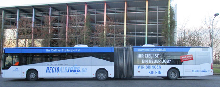 REGIOALBJOBS.de Bus
