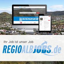Regioalbjobs.de Das online Stellenportal für die Region Nackar-Alb